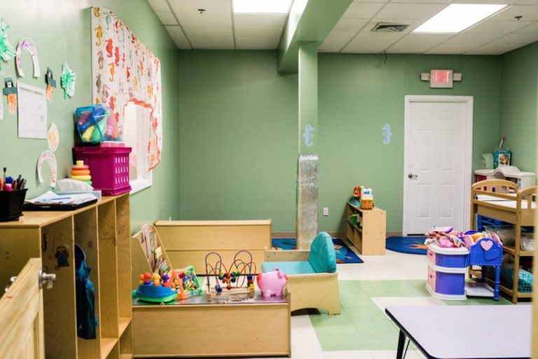 Wooden furniture, cabinets , sofa , cribs and table at a Childcare Serving Branford & Wallingford, CT
