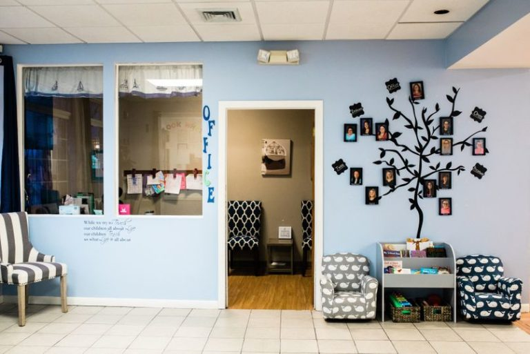 Decorative design of the office at a Childcare Serving Branford, Cheshire, Wallingford, CT
