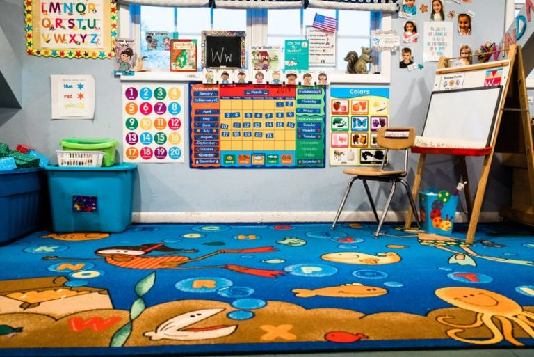 Colorful design educational nursery room at a Childcare Serving Branford, Cheshire, Wallingford, CT
